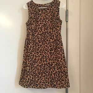Gap Cheetah Fit & Flare Size 0 XS